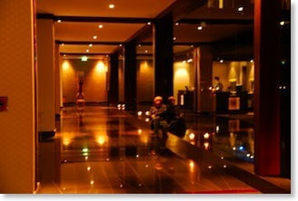 Lobby of Westin, Auckland, New Zeland